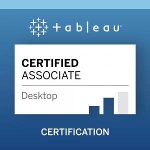 sertified tableau associate